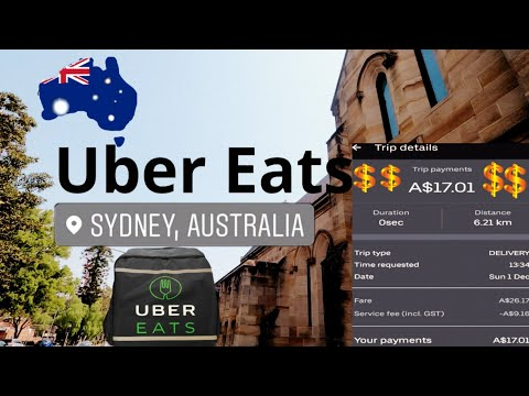Uber Eats In Sydney On E-bike || How Much Can You Earn Doing Uber Eats?|| Part-time Job In Sydney||