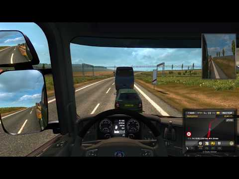 Euro Truck Simulator 2 Zuwara (Libya) to Brno (Czech)