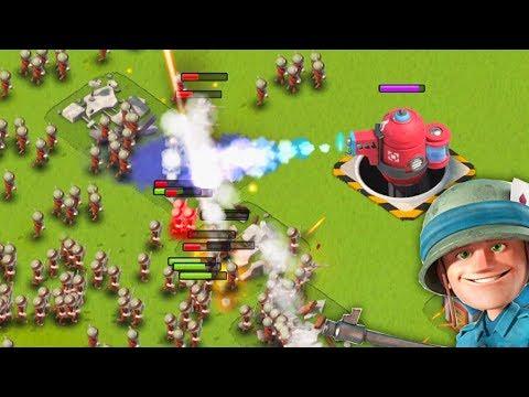 700 Riflemen vs a Maxed Hot Pot! Boom Beach!