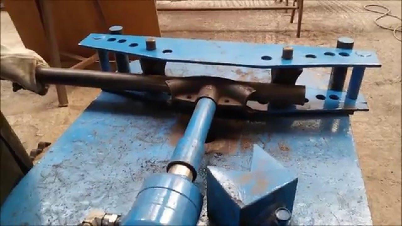 Coudeuse plieuse cintreuse agoujil doovi for Fabrication presse hydraulique maison