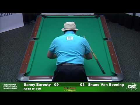 Match 10 Shane VanBoening vs Danny Barouty