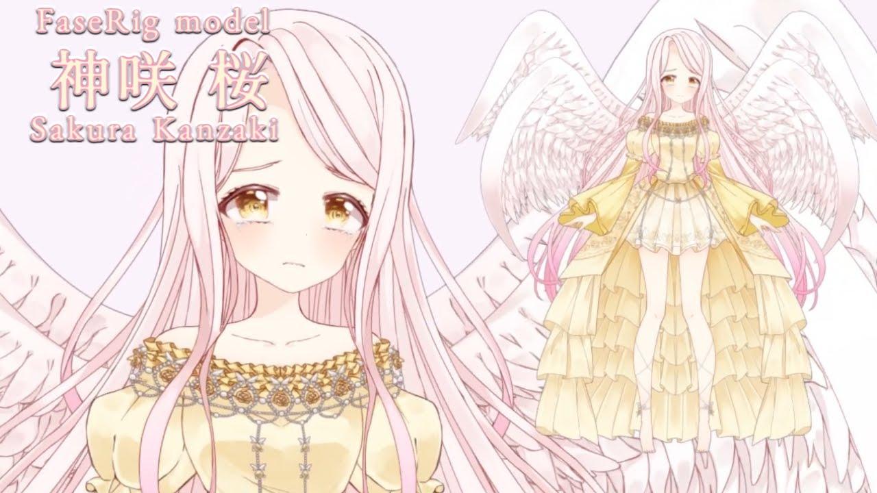 """FaceRig model """"Sakura_Kanzaki"""""""