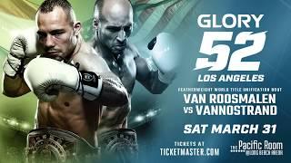GLORY 52 Los Angeles: Tickets on Sale!