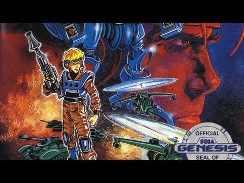 Classic Game Room - FINAL ZONE review for Sega Genesis thumbnail