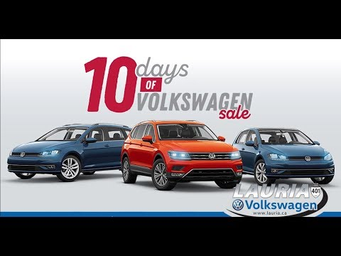 10 Sale - Huge Grand Prize - Great time to get into a new VW!