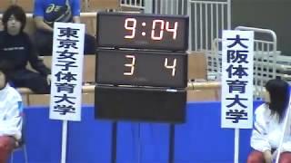 ハンドボール 2009年 全日本学生選手権大会準決勝(インカレ) 東京女子体育大学対大阪体育大学