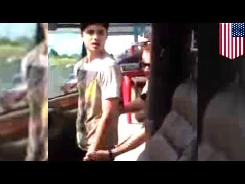 Полицейские злоупотребив властью, надели наручники на невиновного парня