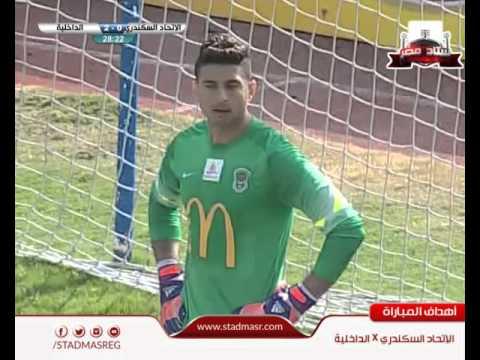 """اهداف مباراة الاتحاد 1-2 الداخلية """" الدورى المصرى 7-3-2016 ithad vs dakikia"""