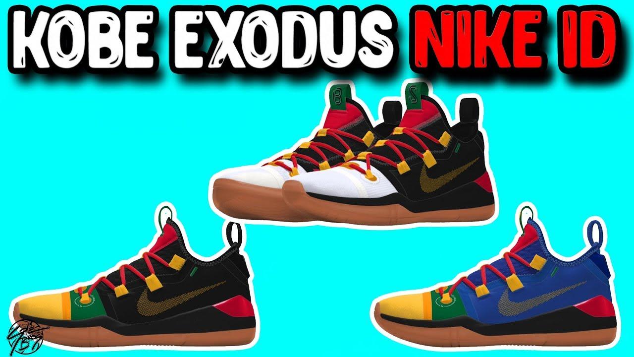 e8c70298cb81a Designing the Nike Kobe AD Exodus on NIKEID - YouTube