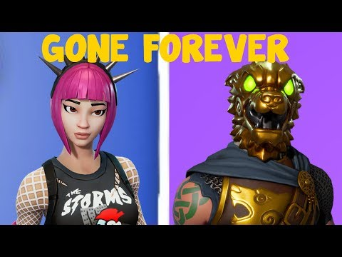 5 Skins That Are Never Coming Back To Fortnite That You Want!- Fortnite Skins