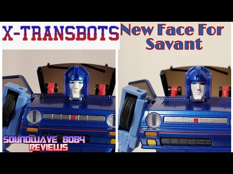 X-transbots Savant (MP Skids) New Face Review/How to