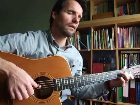 Broken Wing - Roy Harper (cover + guitar tutorial)