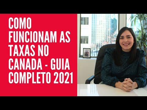 COMO FUNCIONAM AS TAXAS NO CANADÁ - GUIA COMPLETO 2021