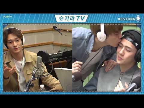 150407 Baekhyun BOBO Sehun CUT (中字) @KISS THE RADIO