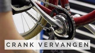 Crank vervangen fiets