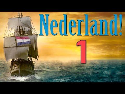 Nederland [1] Je Maintiendrai - Europa Universalis IV Ironman Achievement Run EU4