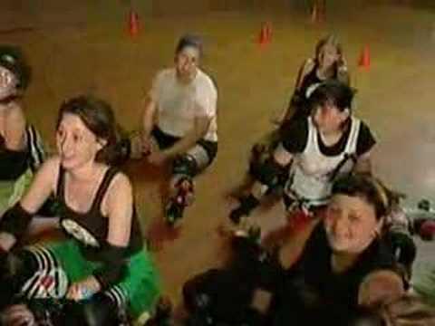 WBIR CHannel 10 Hard Knox Roller girls on the News