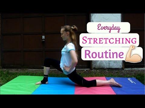 Everyday Stretching Routine ~ Geneva Gymnastics Lover