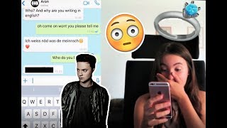 SONG LYRIC PRANK ON SOMEONE WHO LIKES ME (HE SAID WHAT?!)