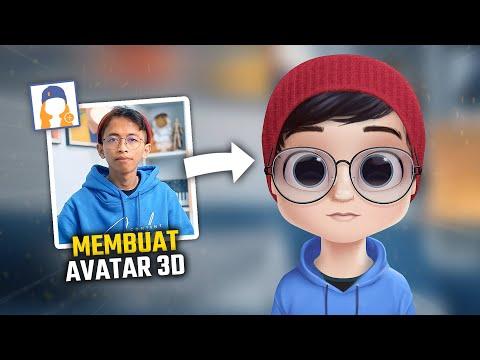 Cara Membuat Avatar 3D di Hp Android | DOLLIFY TUTORIAL
