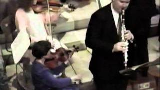 Martin Powell Clarinet, New English Orchestra, Mozart 1st Mov