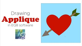 Drawing Applique in EQ8 Software