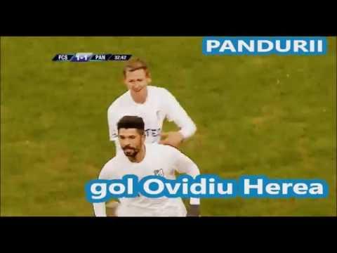 Gol Ovidiu Herea - min. 33 - FC Steaua 1-1 Pandurii Targu Jiu