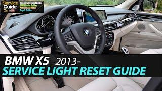 BMW X5 Service Light Reset (F15,F85)