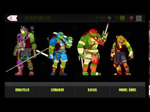 Descargar Tortugas ninja official pelicula juego android apk