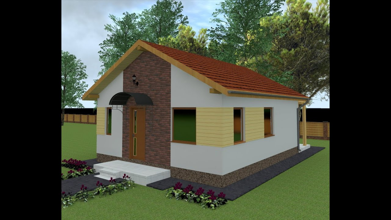 Proiect casa parter suceava sv8 youtube for Case parter 3 camere