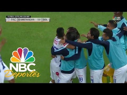 ¡Tiro perfecto! ¡Golazo de Urretaviscaya (PAC)! | Liga MX | NBC Deportes