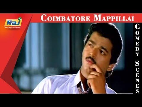 Download Coimbatore Mappillai | Movie Comedy Scenes | Goundamani Comedy | Vijay | Senthil | Sanghavi | RajTV