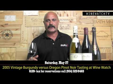 1996 Vintage Burgundy Tasting at Wine Watch Wine Bar - click image for video