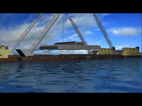 The Twin Wing Tsunami Barrier, the ultimate, passive tsunami protection solution.