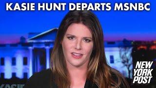 Kasie Hunt announces she's leaving MSNBC