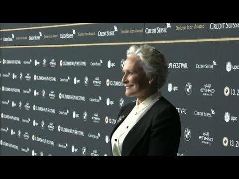 Björn Runge and Glenn Close - THE WIFE - 13th Zurich Film Festival