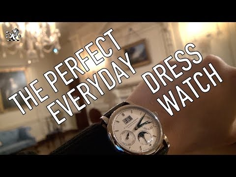 A Perfect Luxury Dress Watch: A.Lange \u0026 Sohne Saxonia Annual Calendar