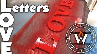 CNC Love Letters | MDF Project