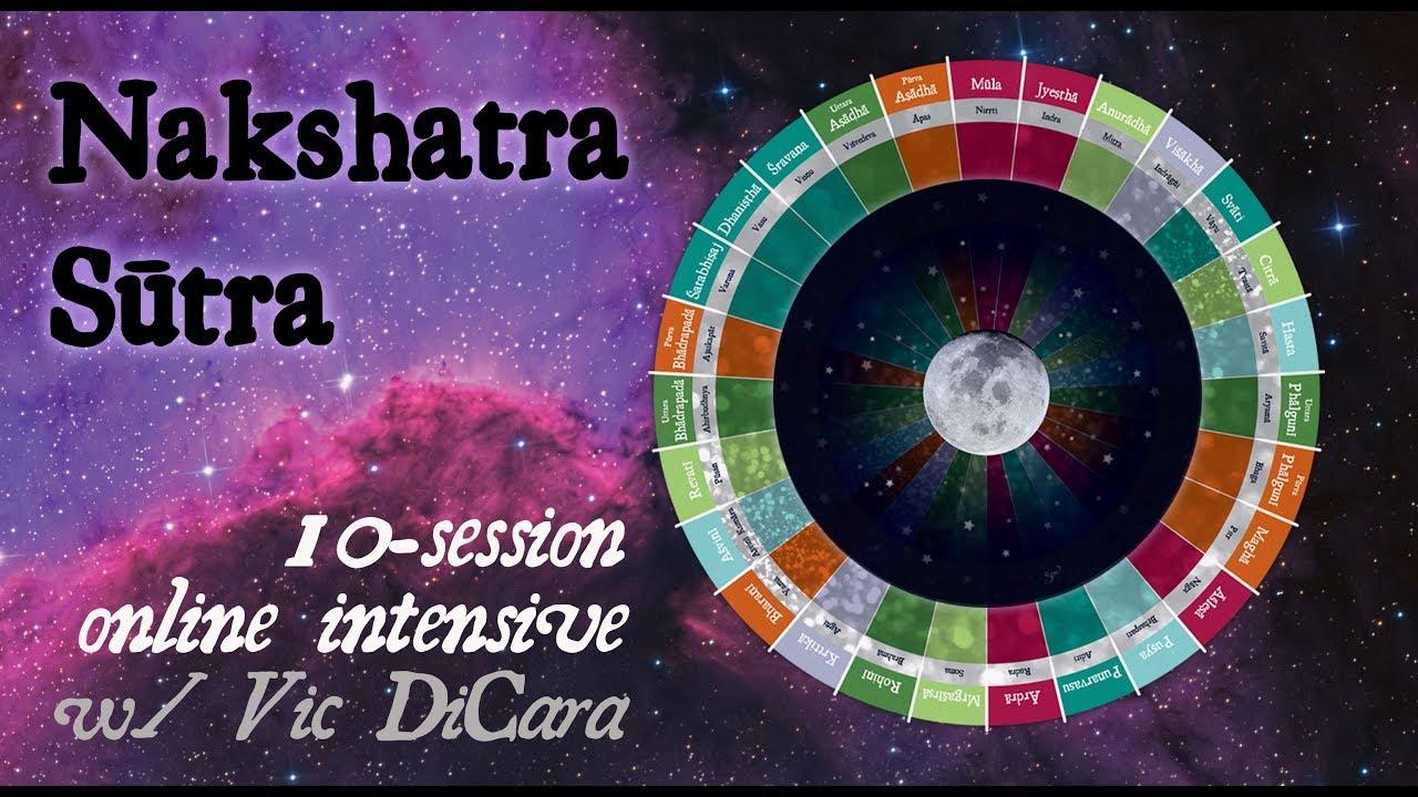 The Nakshatra Sutra