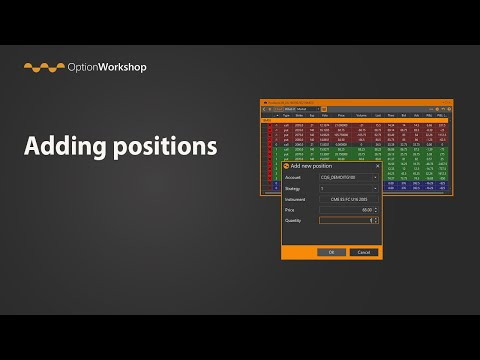 Ways of adding positions