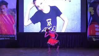 Aarchie's stage performance Aa Ante Amalapuram