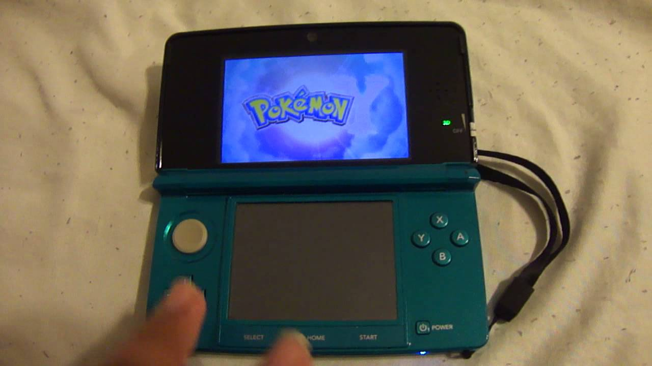 How To Start a New Save File - Pokemon Omega Ruby and ...
