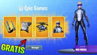 HOW TO GET THE NEW FREE PS PLUS PACK IN FORTNITE!!