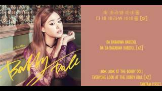 Bobby Doll - Song Ji Eun Lyrics [Han,Rom,Eng]