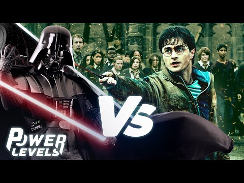 The Force (Star Wars) vs Magic (Harry Potter)   POWER LEVELS