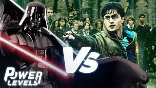 The Force (Star Wars) vs Magic (Harry Potter) | POWER LEVELS