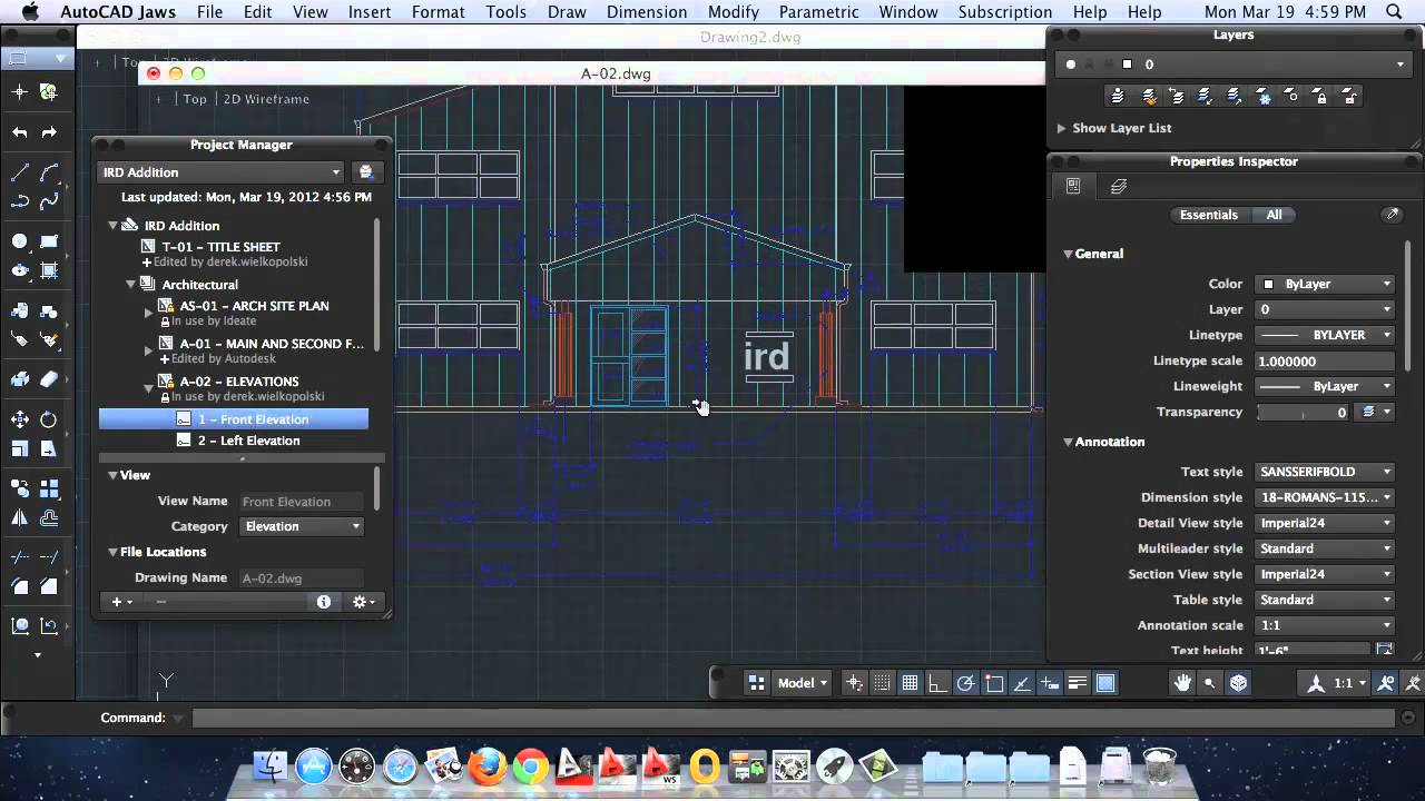 AutoCAD For Mac 2013, Project Manager Script   YouTube