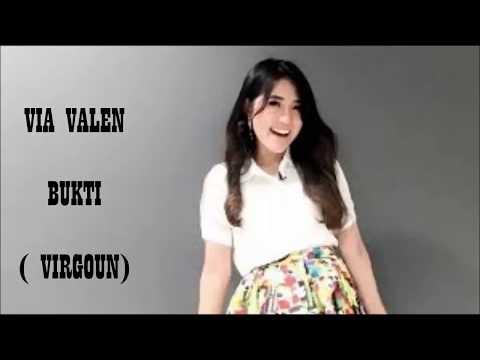 Via Valen Cover Virgoun-Bukti Lirik