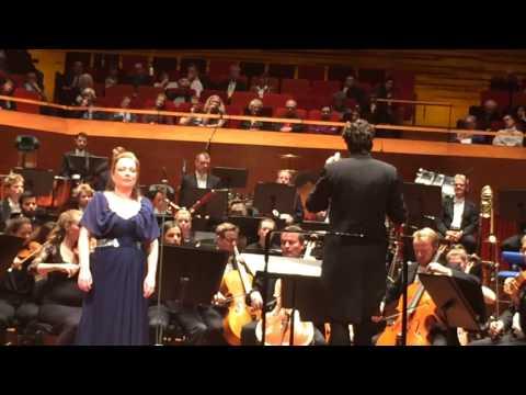 Dorothea Röschmann. Concert. (Koncerthuset (Concert Hall), Copenhagen)