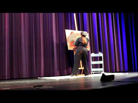 Amazing 4 MINUTE Speed Painting! Karma Chameleon